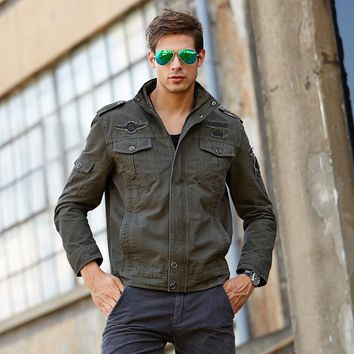 2017 New Arrival Spring Softshell Windproof Bomber Men Jacket And Coats Military Army