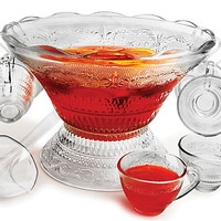 27-Pc Annabella Punch Bowl Set