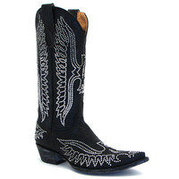 Old Gringo Black Eagle Swarovski Boot