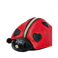KITSCH LADY BUG WRISTLET: Betsey Johnson
