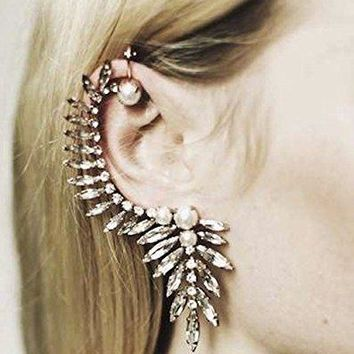 Pixel Jewelry 1985 - New Fashion Gothic Punk Temptation Metal Dragon Bite Ear Cuff Wrap Clip Earring Type 22