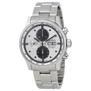 Mido Multifort Silver Dial Automatic Mens Chronograph Watch M005.614.11.031.09