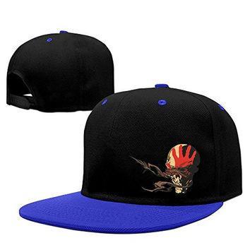 Adult Fashion Five Finger Death Punch Cotton Sport Hat RoyalBlue One Size For Men And Women