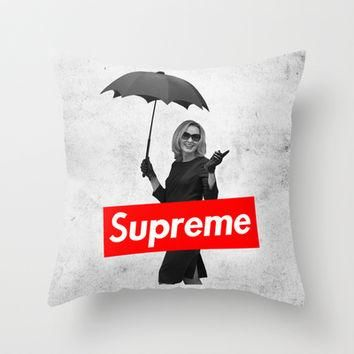 American Horror Story Coven: The Original Supreme Throw Pillow by dan ron eli