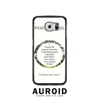 Pierce The Veil Song Lyrics Samsung Galaxy S6 Case Auroid