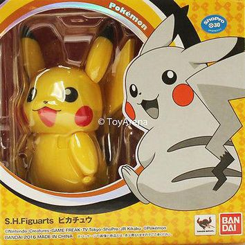 S.H. Figuarts Pikachu Pokemon Action Figure USA Seller IN Stock