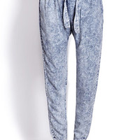 Acid Wash Harem Pants