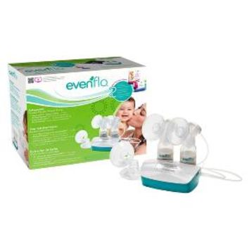 evenflo elan nursing system advanced digital dual breast pump