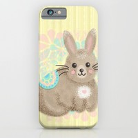 Cute Little Bunny iPhone & iPod Case by Noonday Design | Society6