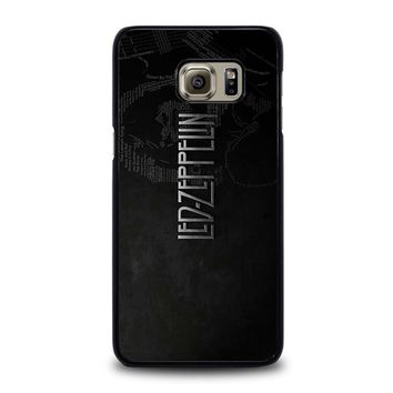 LED ZEPPELIN LYRIC Samsung Galaxy S6 Edge Plus Case Cover