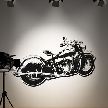 Vinyl Wall Decal Sticker Motorcycle #OS_AA150