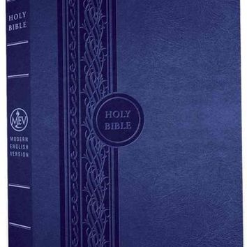 Holy Bible: Modern English Version, Blue Thinline Reference Bible