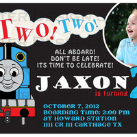 Thomas the Train Birthday Invitation - Printable