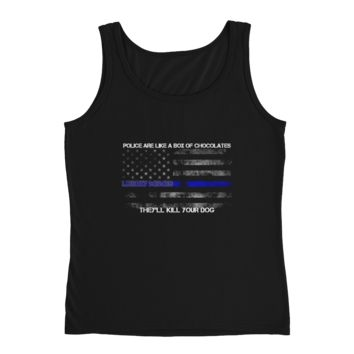 Ladies' Tank - Police are Like a Box of Chocolates