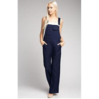 Navy Overalls with Adjustale Strap