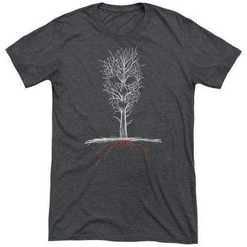 American Horror Story Scary Tree Soft Tri Blend T-Shirt