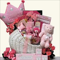 Little Princess Baby Girl Gift Basket