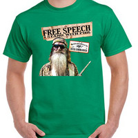 I stand with Phil Robertson - Duck Dynasty tshirt