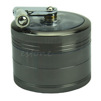 Zinc Alloy Grinder - 2.4inch - 4 Layer