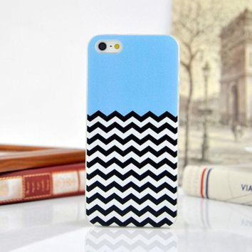 ac NOOW2 Cute Stripe Hard Case Phone Protective Cover for iPhone 5 5s