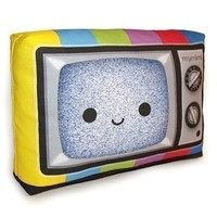 Happy Color TV Mini Decor Pillow by mymimi on Etsy FREE SHIPPING