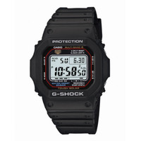 Casio® Mens G-Shock Black/Black Square Strap Watch - JCPenney