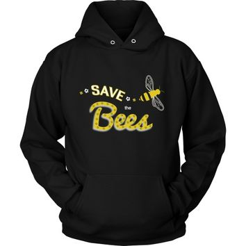 Save the Bees (flying) - Hoodie