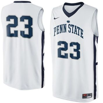 Nike Penn State Nittany Lions #23 Replica Basketball Jersey - White