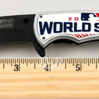 """Chicago Cubs 2016 World Series Numbered Limited Edition Knife 4.5"""" w/COA"""