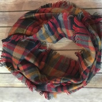 The fall colors scarf