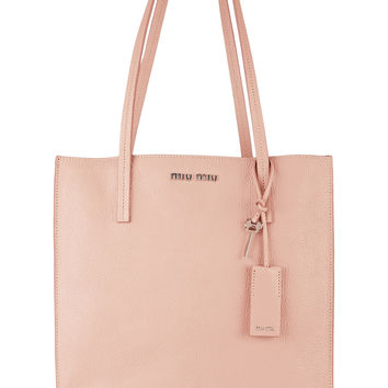 Miu Miu - Textured-leather tote