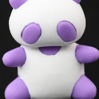 Purple Panda Eraser Series One