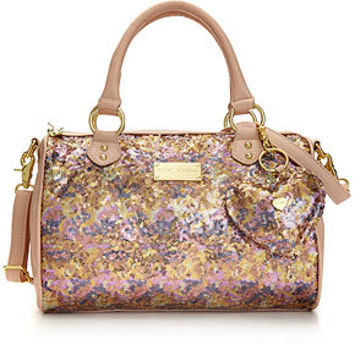 Betsey Johnson Handbag, Holiday Satchel - Handbags & Accessories - Macy's