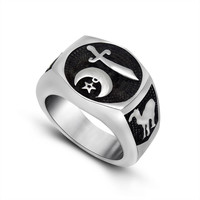 Shiny Jewelry New Arrival Gift Stylish Titanium Strong Character Stainless Steel Anime Accessory Ring [6542702275]
