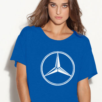 Mercedes-Benz  boxy ladies tshirt