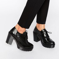 Bronx Chunky Heeled Shoes