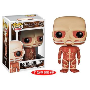 Attack on Titan Colossal Titan 6-Inch Pop! Vinyl Figure