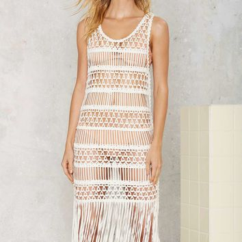 Look Right Through Crochet Cover-Up