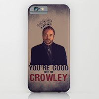 I'm Crowley - Supernatural iPhone & iPod Case by KanaHyde