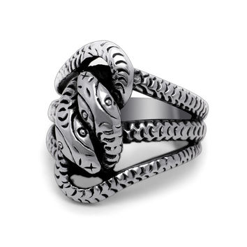New Arrival Gift Shiny Stylish Jewelry Vintage Men Titanium Punk Accessory A4 Size Ring [6526791683]