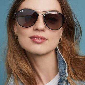 Ray-Ban Blaze Double Bridge Sunglasses