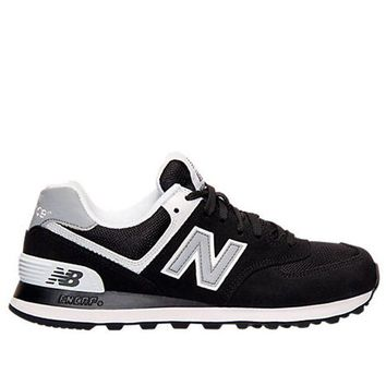 DCCK1IN new balance 574 core black athletic sneaker