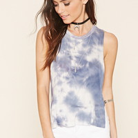 Tie-Dye High-Low Tank