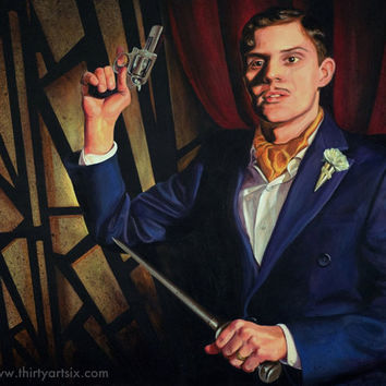 American Horror Story: Hotel - Mr March - Painting Art Print