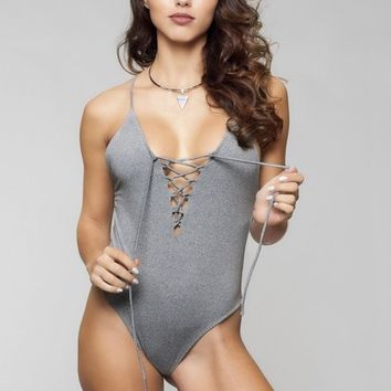 JYork x Dbrie Greta One Piece - Grey