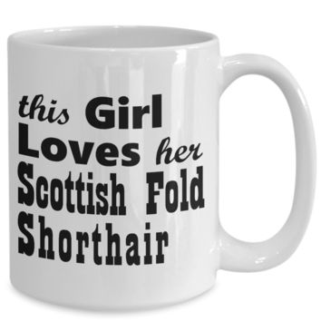 Scottish Fold Shorthair - 15oz Mug