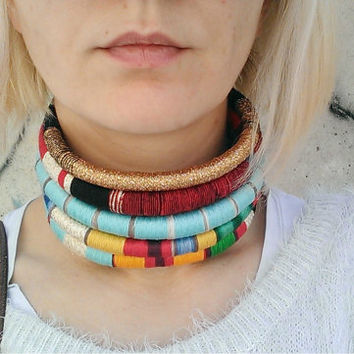 Queen, Choker, Tribal Necklace, Statement Necklace, African Choker, African Necklace, Aztec Necklace, Tribal Necklace, African Jewelry