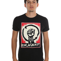 Rise Against Raised Fist Logo T-Shirt