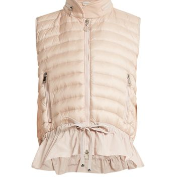 Maglia quilted down gilet | Moncler | MATCHESFASHION.COM US