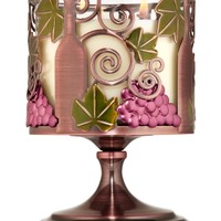 3-Wick Candle Sleeve Wine Pedestal